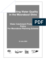 Water Catchment Protection Policy for Moorabool Planning Scheme[1]