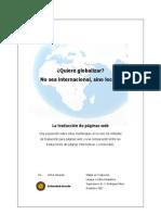 La traducción de páginas web - A. Berends
