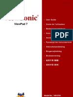 ViewSonic VPAD7 Manual