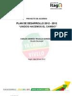 Proyecto Plan de Dllo Itagui 2012-2015