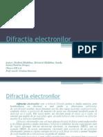 Difracţia electronilor