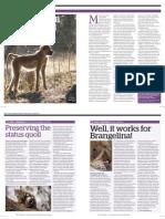 Lilongwe Wildlife Centre - r:travel magazine article