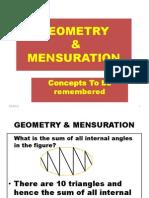Geometry & Mensuration 1