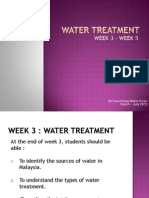 Week 345 - Water Treatment