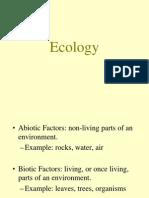 Ecology Trophic Levels
