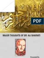 Dr. Ali Shariati (Iranian Ideologue)