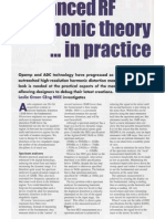 Advanced RF Harmonic Theory ... in practice
