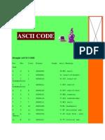 ASCII Value