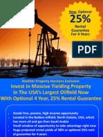 USA Dakota Opportunity - 25% Rental Guarantee for 4 Years