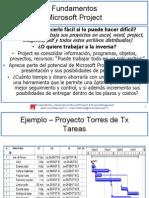 Microsoft Project Presentación