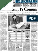 Padova - candidati elezioni 2012