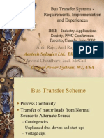 PPIC Bus Transfer Systems