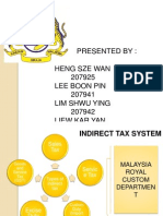 Indirect Tax Slide
