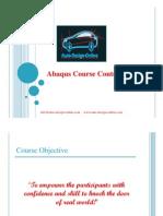 Abaqus Course Content