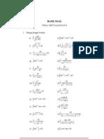Soal Kalkulus II Semester 2
