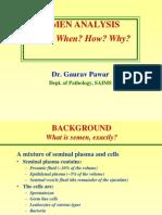 Semen Analysis 2011at Saims