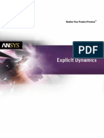 Ansys Explicit Dynamics