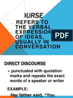 Discourse Power Point