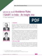 Article on GAAR-Taxmann Sept-2011