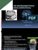 Liquidos en Neuroanestesia