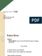 Relasi Dan Fungsi - Matematika Diskrit