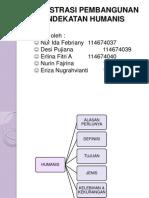 Paradigma Humanis Administrasi Pembangunan