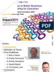 IBM Impact 2011 - Five Guidelines to Better Process Modeling for Execution - Stuart and Zahn