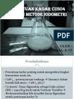 Penentuan Kadar CuSO4 Dengan Metode Iodometri