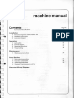 Harrison M350 Machine Manual