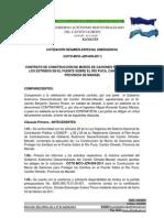 CONTRATO CONTRUCCIÓN DE MUROS DE GAVIONES