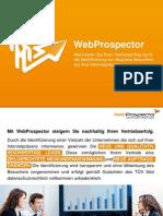 Leadgenerierung und Inbound-Marketing für B2B Unternehmen mit WebProspector