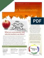 Assessment Newsletter