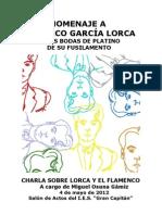 Charla Lorca y Flamenco