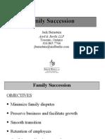 Family Succession