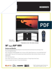 RCA HDTV Product Manual 1788