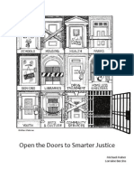 Open Doors to Smarter Justice 2011