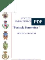 UNIONE COMUNI STATUTO