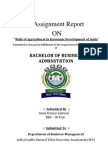Role of Agriculture in Economic Development in India