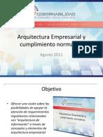 Arquitectura rial Cumplimiento Normativo - Mauricio Alfaro