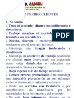 Curso Integral de Capacitacion Especial& Personalizada -Como Perder Clientes-comoser Productivo-Entrevista Personal de Aspegu