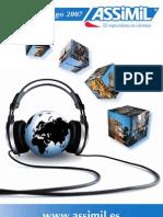Assimil catálogo español (2007)