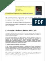 Memoire de l'Eau Pour Les Nuls