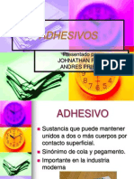 ADHESIVOS presentación