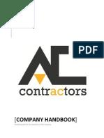 AC Contractors Company Handbook
