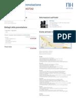 PDF Conferma Di Prenotazione NH Hotels