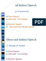 Direct and Indirect Speech - Jessie