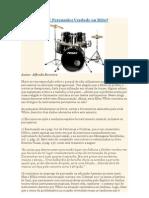 Ellen White X Percussão-verdade ou mito