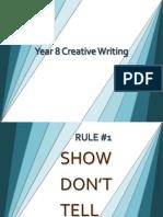 Year 8 Creative Writing