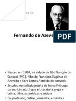 Fernando de Azevedo