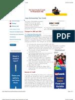 FinAid | Education Tax Benefits | Hope Scholarship Tax Credit